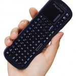 19BT handled bluetooth keyboard with touchpad