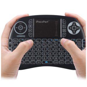 21BTL mini backlit bluetooth keyboard with touchpad