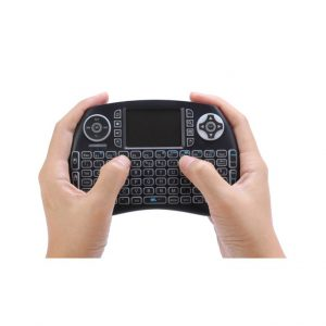21BTL backlit bluetooth keyboard with touchpad