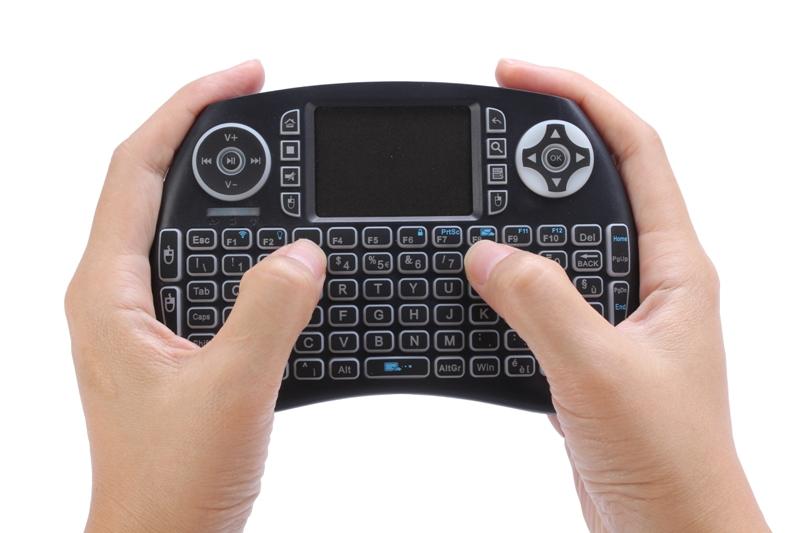 Mini keyboard remote