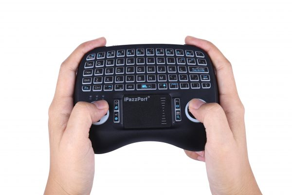 21TL ergo backlit touchpad keyboard