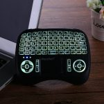 21TL wireless ergo backlit keyboard with touchpad