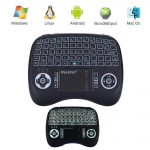 21TL mini wireless ergo backlit touchpad keyboard