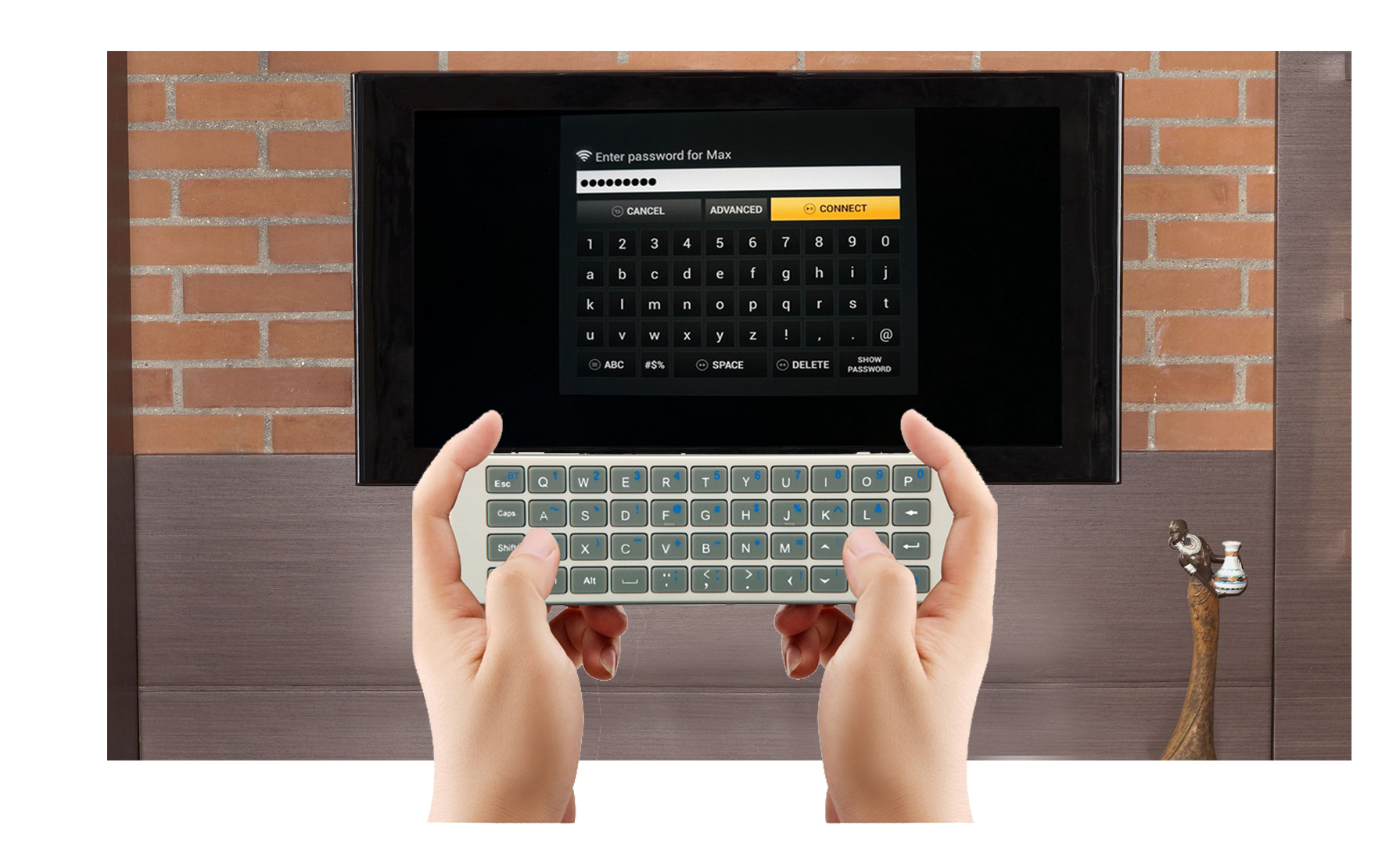 30BL iPazzPort backlit bluetooth keyboard for firestick