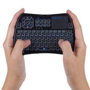 IR/RF touchpad keyboard