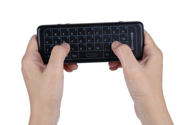 fly mouse keyboard with touchpad