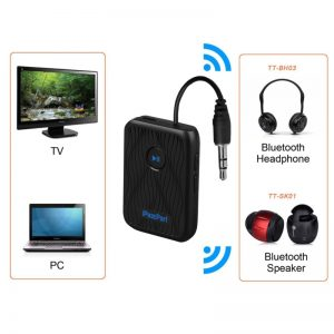 46B Bluetooth audio Transmitter/Receiver adapter with 3.5mm plug