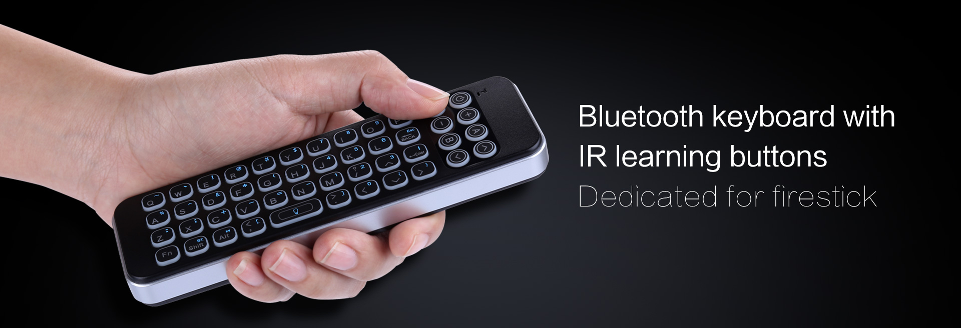 IR bluetooth keyboard for firestick