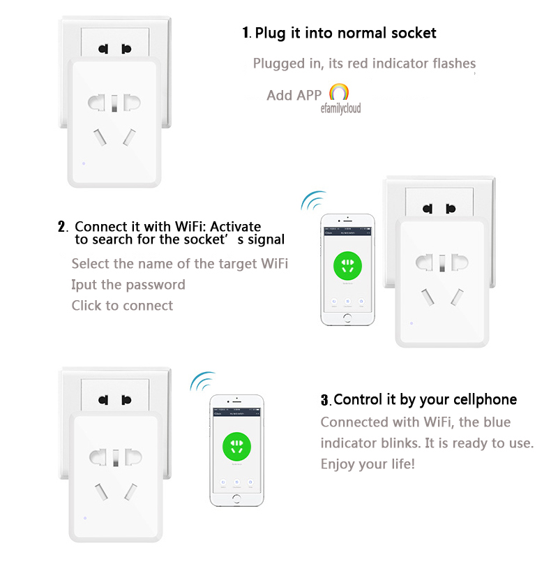 10003 smart wifi plug & socket