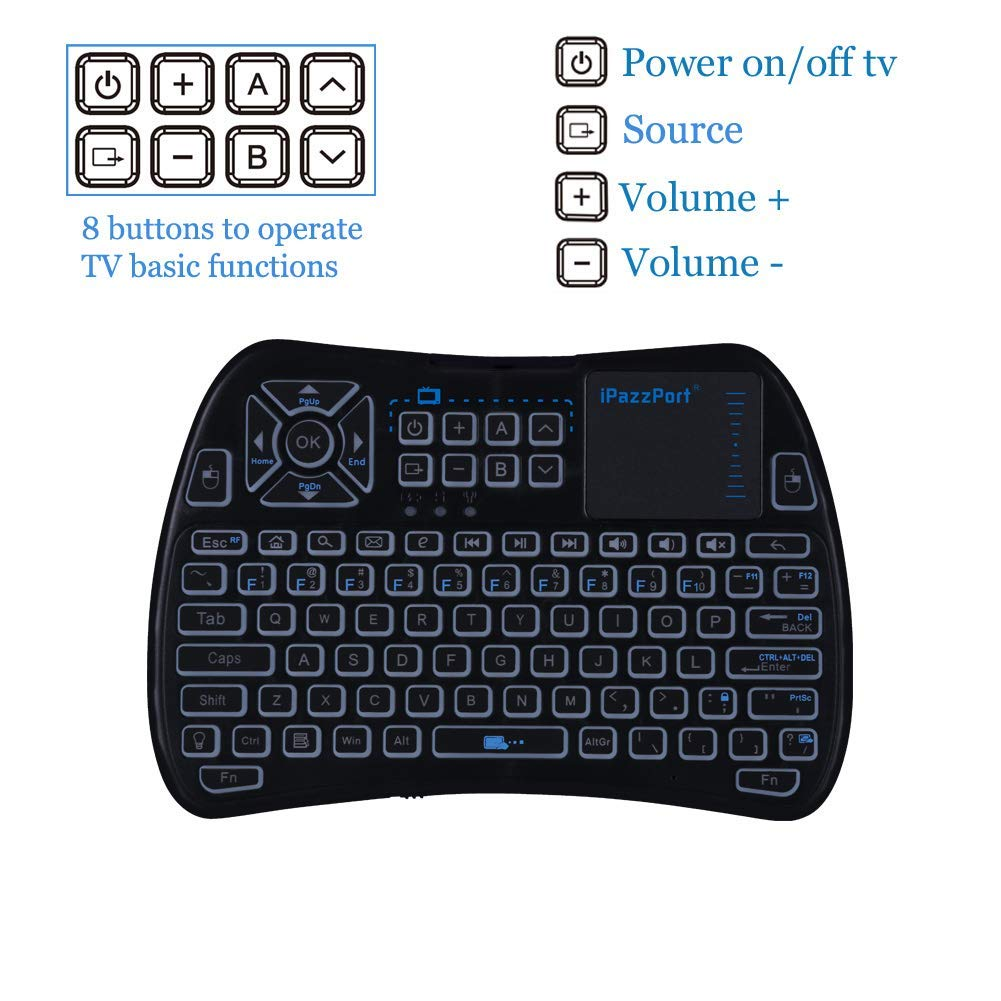mini infrared touchpad keyboard
