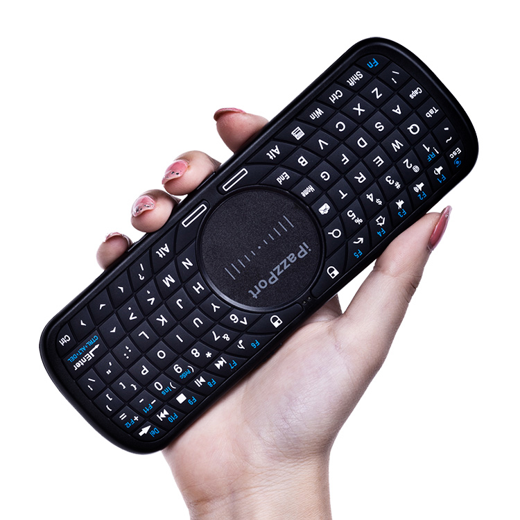 mini handled keyboard with touchpad