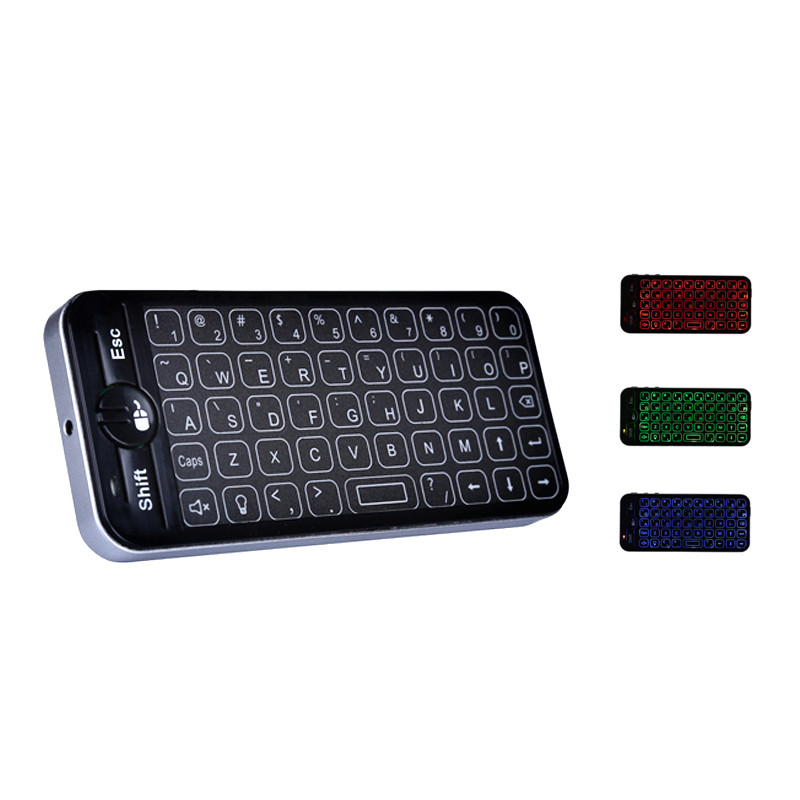 2.4G rgb keyboard with touchpad