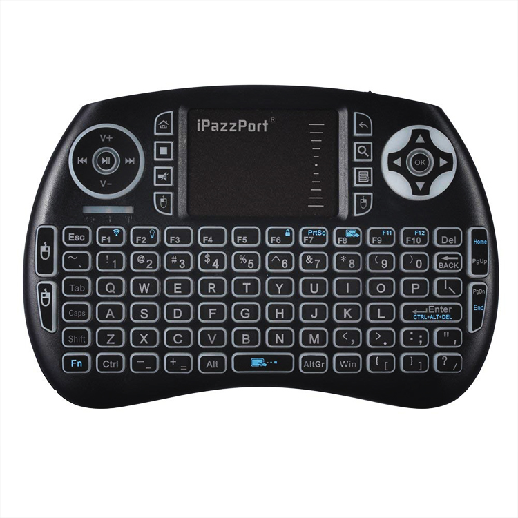 21SBL mini bluetooth kebyoard with touchpad