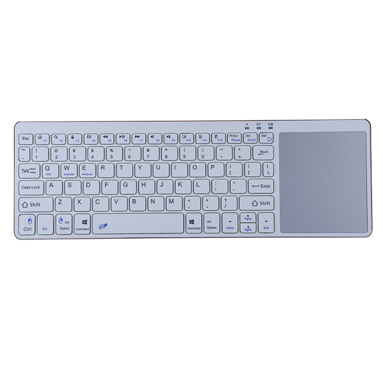 bluetooth keyboard with touchpad for iPad tablet