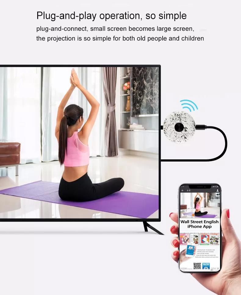 Miracast for 5G+4K