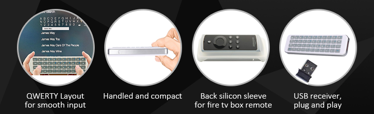 usb keyboard for fire tv box 1st/2nd